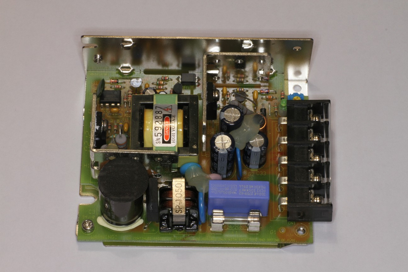 Troubleshooting Switch Mode Power Supplies Old Fashion Fuse Box This Smps Uses Classic Style Through Hole Components